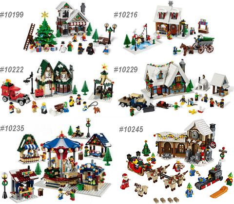 LEGO Winter Village Series
