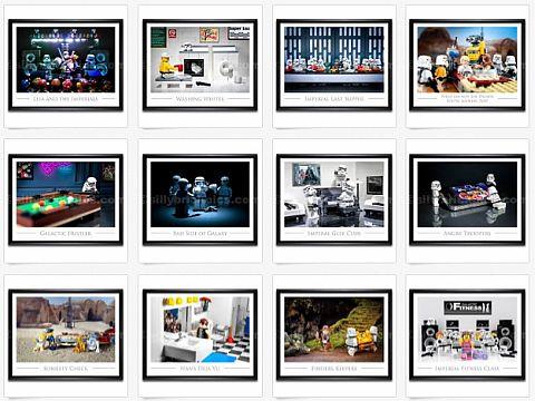 LEGo Posters & LEGO Art Prints