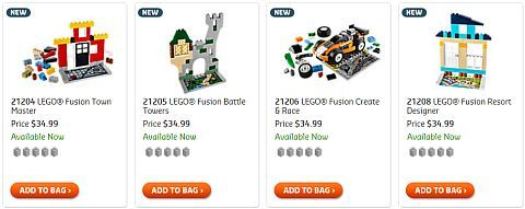 Shop LEGO FUSION Sets
