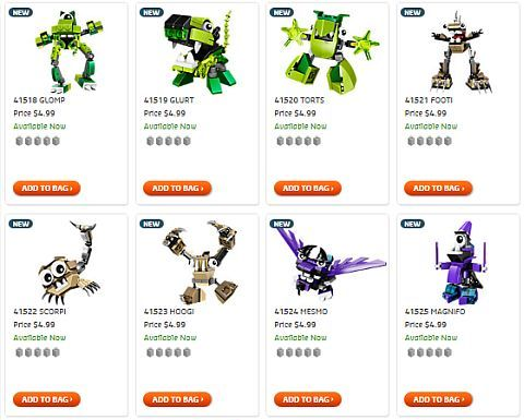 Shop LEGO Mixels Series 3