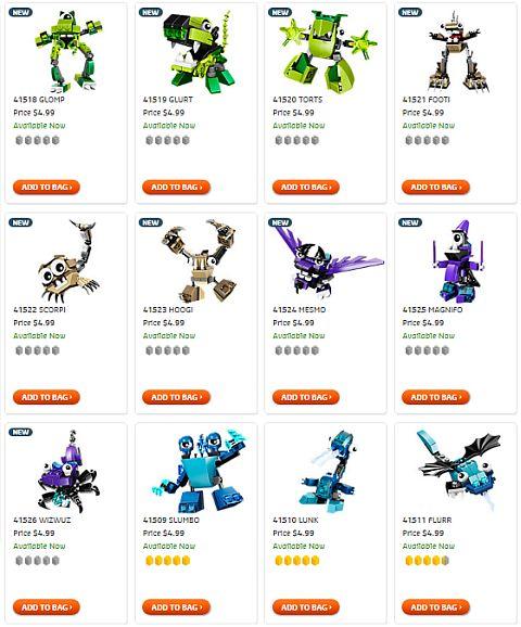 Shop LEGO Mixels