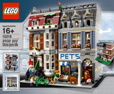 #10218 LEGO Creator Pet Shop