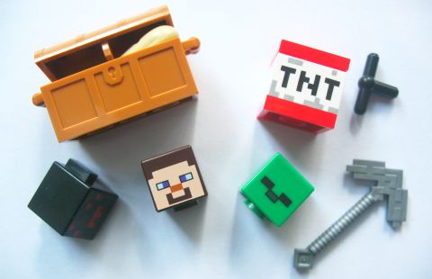 #21113 LEGO Minecraft Pieces