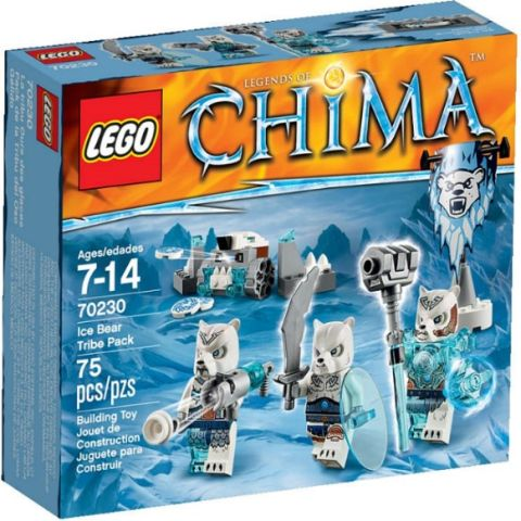 #70230 Ice Bear Tribe Pack