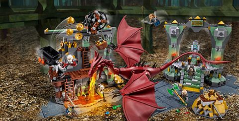 #79018 LEGO THe Hobbit Details