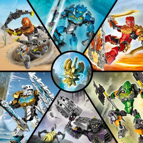 LEGO Bionicle Website