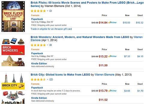 LEGO Brick City Book and More