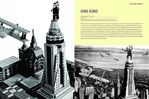 LEGO Brick Flicks King Kong