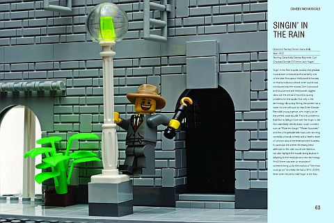 LEGO Brick Flicks Singing in the Rain