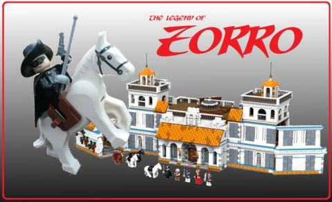 LEGO Legend of Zorro by Reekardoo