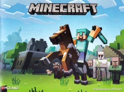 LEGO Minecraft Horse