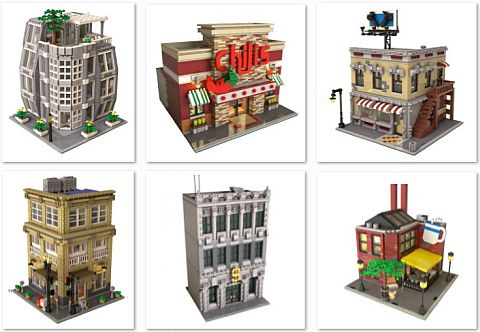 LEGO Neighborhood Book Ideas