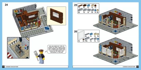 LEGO Neighborhood Book Instructions