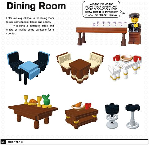 LEGO Neighborhood Book Interior