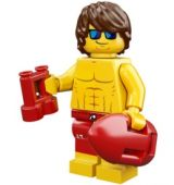 LEGO Series 12 - Lifeguard