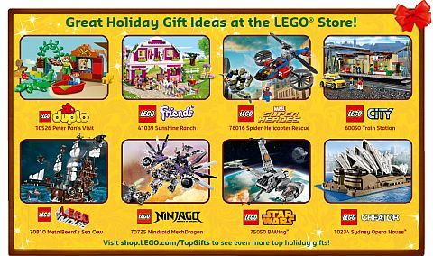 LEGO Sets for Holidays