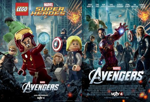 LEGO The Avengers Movie Poster
