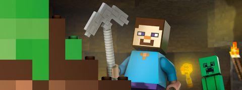 Minifigure Size LEGO Minecraft