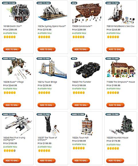 Shop LEGO Exclusives