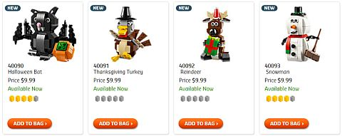 Shop LEGO Holiday Sets