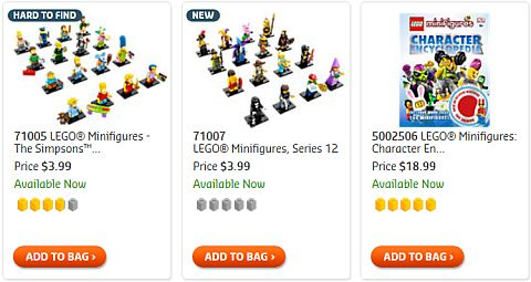 Shop LEGO Minifigures