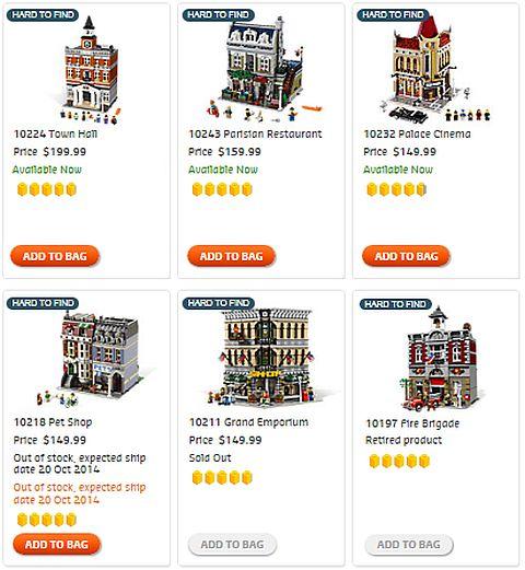 Shop LEGO Modulars