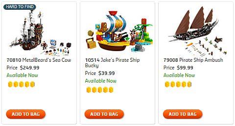 Shop LEGO Ships