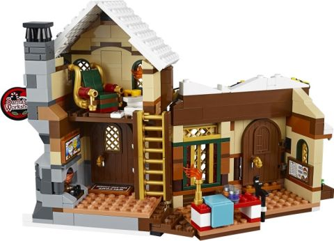 #10245 LEGO Santa's Workshop Back