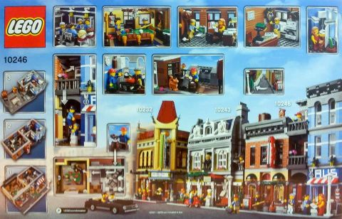 #10246 LEGO Detective's Office Back
