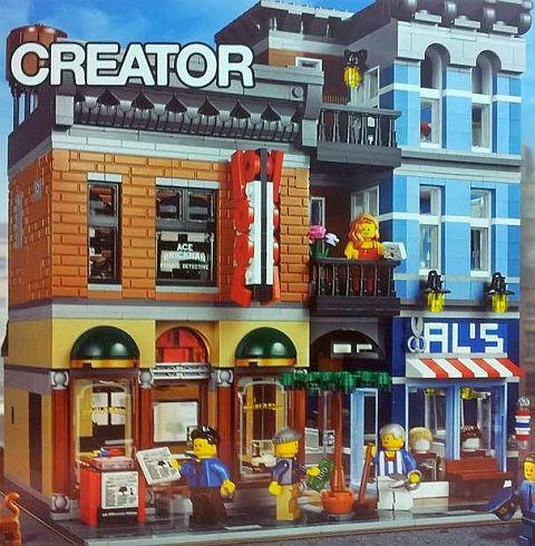 #10246 LEGO Detective's Office Details