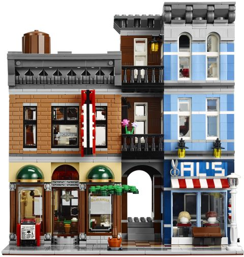 #10246 LEGO Detective's Office Front