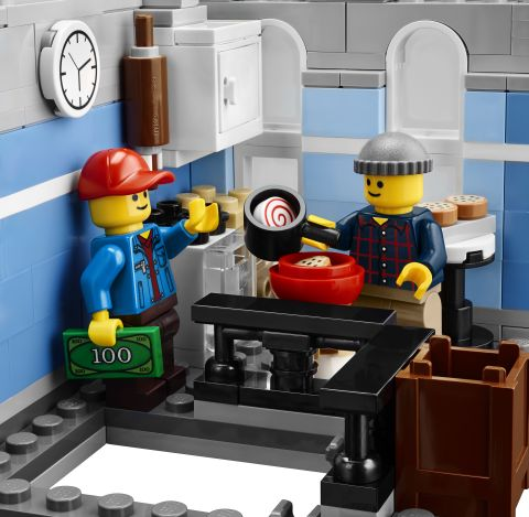 #10246 LEGO Detective's Office Kitchen