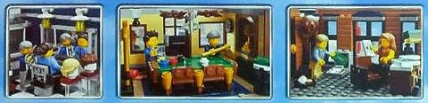 #10246 LEGO Detective's Office Pool Hall