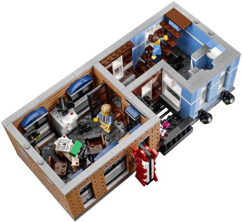 #10246 LEGO Detective's Office Second Floor