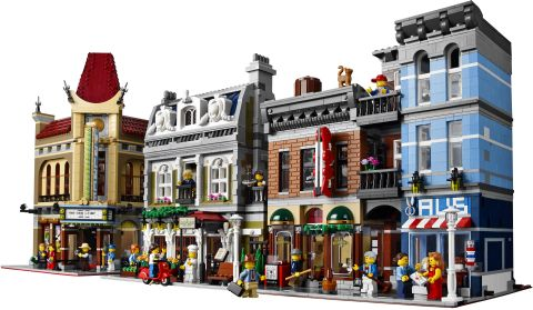 #10246 LEGO Detective's Office Street View
