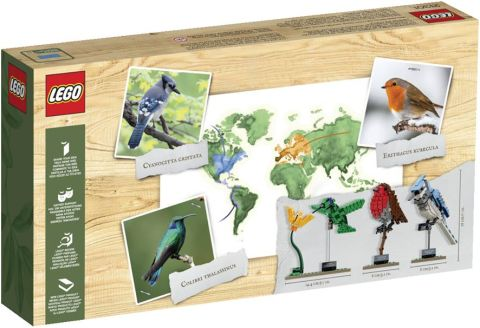 #21301 LEGO Ideas Birds Box Back