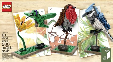 #21301 LEGO Ideas Birds Preview