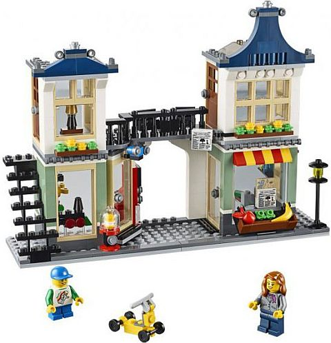 #31036 LEGO Creator Toy & Grocery Shop Details