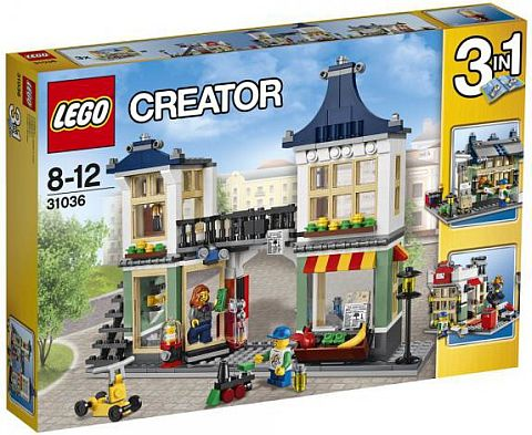 #31036 LEGO Creator Toy & Grocery Shop