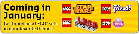 LEGO 2015 Sets Coming