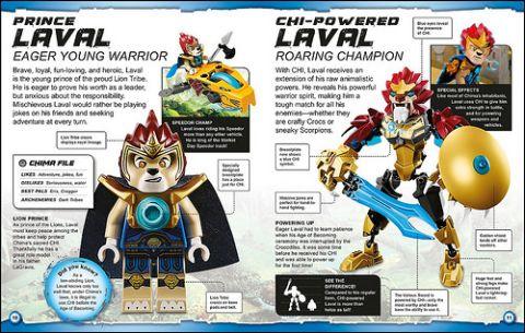 LEGO Book Chima Details
