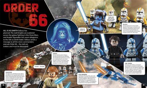 LEGO Book Dark Side Details