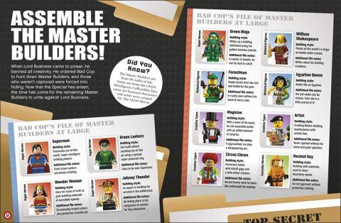 LEGO Book LEGO Movie Details