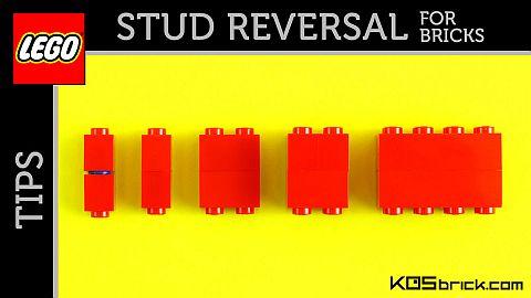 LEGO Brick Stud Reversal