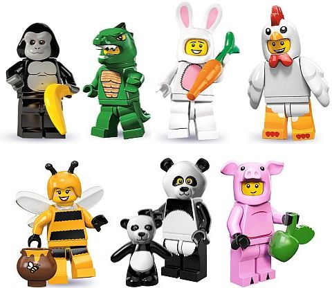 LEGO Collectible Minifigures Costumes Collection