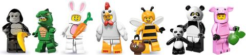 LEGO Collectible Minifigures in Costumes