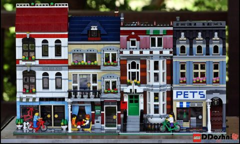 LEGO Creator Bike Shop & Cafe Modular by hs0104c