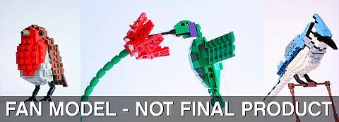 LEGO Ideas Birds Project