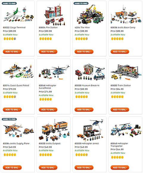 Shop LEGO City Sets