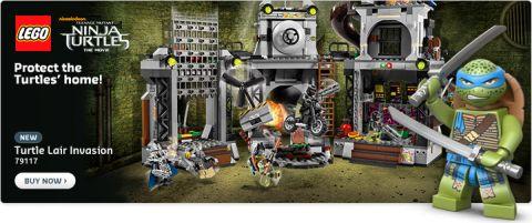 Shop LEGO TMNT